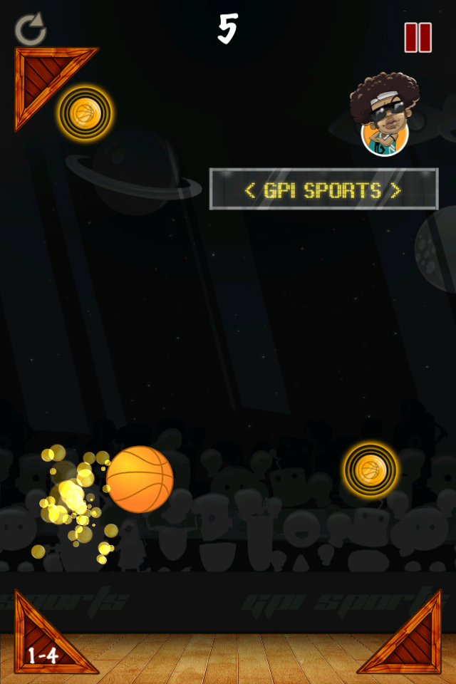 Screenshot Basketball Sandbox II