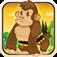 Baby Gorilla Banana Fight - Shoot Nasty Hippos Mania